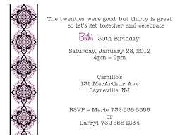 fun party fabulous 30th birthday invitation wording bday invite 40th