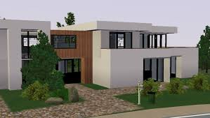 sims 3 modern moderne house maison 2 you con sims 4 maison moderne sims 4 construction