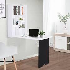 folding wall mounted drop leaf table w