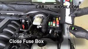 blown fuse check bmw z bmw z roadster l cyl 6 replace cover secure the cover and test component