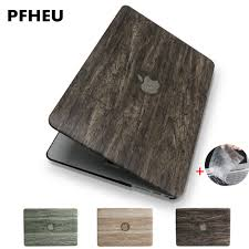 New Classical <b>wood grain</b> PU leather top for MacBook Air Pro ...