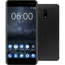 nokia smartphone android price. nokia 6 32gb dual sim ta-1003 - black smartphone android price