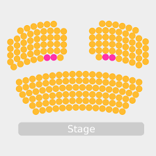 Fulton Theater Seating Chart