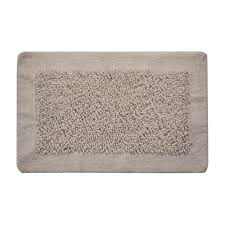saffron fabs bath rug cotton and chenille 34 in x 21 in in