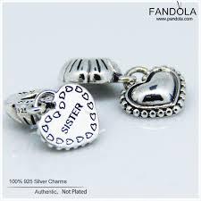 2019 <b>FANDOLA</b> DIY Charms <b>Jewelry</b> Making Fit Beads Bracelet <b>925</b> ...
