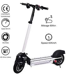 <b>Lamtwheel Electric</b> Scooter 1200 Watt Motor - Range 40-50 km with ...