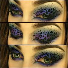 amazing leopard eye makeup