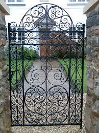 decorative garden gates. Projects Inspiration Wrought Iron Garden Gates Gate ASH Ironworks Quality Decorative