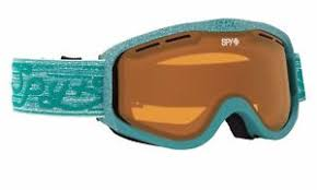 Spy Goggles Lens Chart Brand New Spy Cadet Pixie Green Snowboard Ski Snowmobile