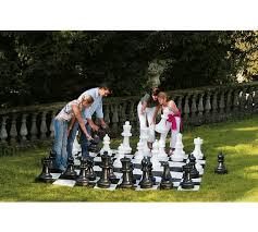garden chess set. Large Garden Chess Pieces389/3795 Set A