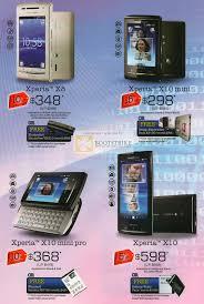 sony ericsson xperia x8. sitex 2010 price list image brochure of 6range sony ericsson xperia x8 x10 mini pro. «