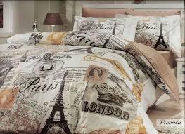 Another guest room bedding theme ~ Paris London Vintage Travel theme