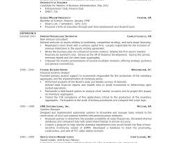 Student Resumes Mesmerizing Good Resume Examples For Students Of Resumes Templates College
