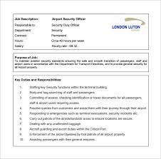 security officer duties and responsibilities security officer job description template 13 free word pdf