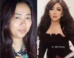 foto soimah before after makeup riasan bennu insram bennusorumba
