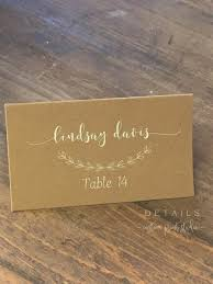 log rustic style card table wedding place card calligraphy ideas on this is certainly one