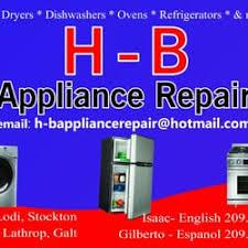 appliance repair stockton ca. Wonderful Appliance Photo Of HB Appliance Repair  Stockton CA United States Intended Stockton Ca Yelp