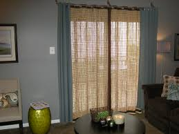 single panel patio door curtains 4 sliding glass fabric panels for