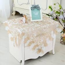 spring flower embroidery table cloth bedside table cover coffee table cover round tablecloth cover towel tv cover tablecloth