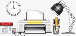 creative office supplies. Vector Creative Office Supplies, Table Lamp PNG And Supplies N