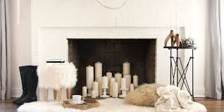 living room with fireplace decorating ideas. Courtesy Of Room For Tuesday Living With Fireplace Decorating Ideas