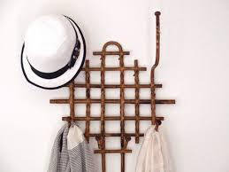 Vintage Bamboo Coat Rack