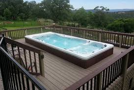 backyard ideas for your michael phelps swim spa intended above ground decorations 3