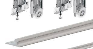 fastor sliding door gear wardrobe track kit system