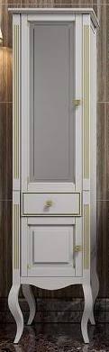 <b>Шкаф</b>-<b>пенал Opadiris Лаура</b> 45 L белый с патиной в интернет ...