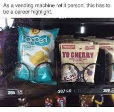 Vending Machine Refill Job Gorgeous As A Vending Machine Refill Person This Has To Be A Career Highlight