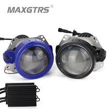 <b>2017 New</b> MAXGTRS Auto Bi <b>LED</b> Projector Lens Headlight ...