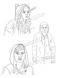 Pretty Little Liars Colouring Pages Pretty Little Liars Printable