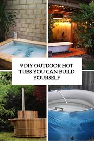 9 diy outdoor hot tubs that you can build yourself cover tub h7