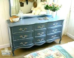 french country dresser. French Country Dresser Outdated Scored Provincial Set Gets Makeover With Beautiful Rs To