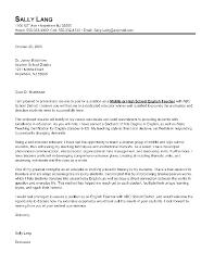Esl Teacher Cover Letter Sample Job And Resume Template