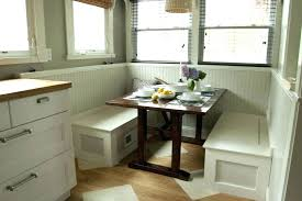 kitchen table with built in bench. Built Kitchen Table With In Bench D