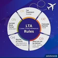 leave travel allowance lta claim