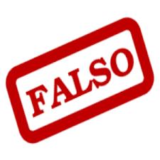 Resultado de imagen de falso