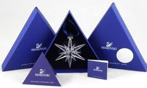 Image 1 : Swarovski 2005 Annual Limited Edition christmas Ornament MINT IN  BOX!