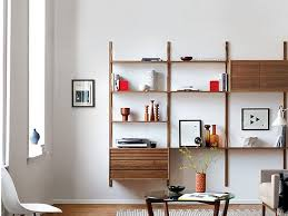 wall units wall mounted shelving units apartment therapy wall shelves marvelous wooden cabinet with shelves
