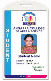 School Id Template Id Card Coimbatore Ph 97905 47171 College Id Card Template 1407