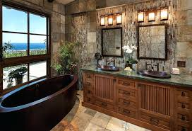 mirror bathroom with slate tile bronze makeup mirrors barbara barry oval go lightly sconce barbara barry