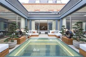 basement pool glass. Wonderful Basement Two Internal Courtyards One With A Feature Glass Floor Staircase Full  Basement Swimming Pool Cinema Wine On