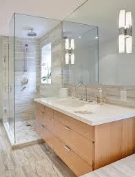 houzz bathroom vanity lighting. Houzz Bathroom Contemporary With Floating Vanity Lighting N