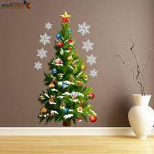 Christmas Tree Wall Decals U0026 Wall Stickers  ZazzleChristmas Tree Decals