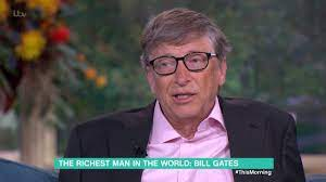 Bill Gates Talks His Charitable Foundation