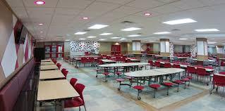 High school cafeteria Brookline Prev Next Isg West High School Cafeteria Isg