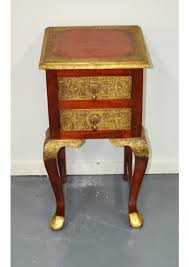 brass furniture. Indian Brass Fitted 2 Drawer Side Table Furniture