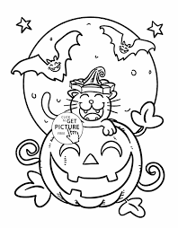 Small Picture Disney Halloween Coloring Sheets Halloween Coloring Pages