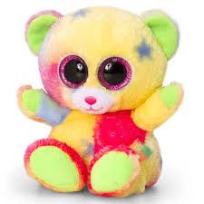 Keel Toys 15cm Animotsu Rainbow Bear